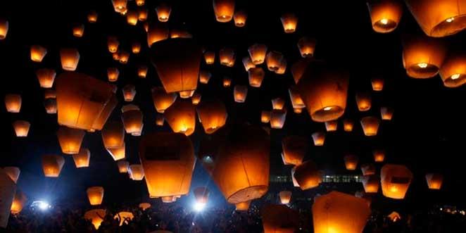 Февральские фонарики в Китае